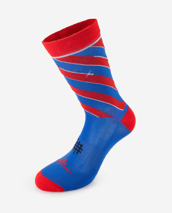 the wonderful socks les 4 mousquetaires cycling socks