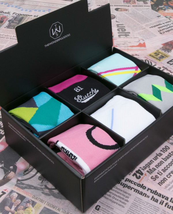 The Italy socks GIFT BOX