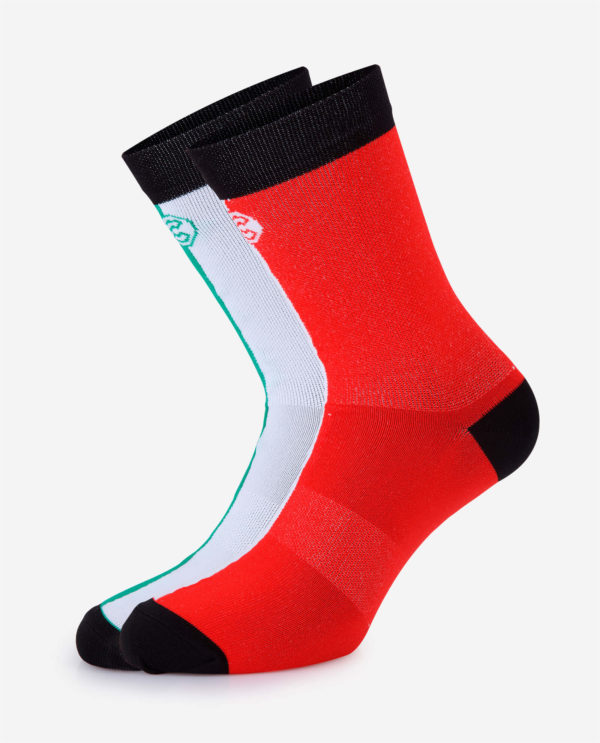 the wonderful socks Cinelli cycling socks