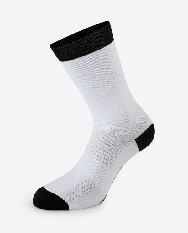 the wonderful socks cycling white