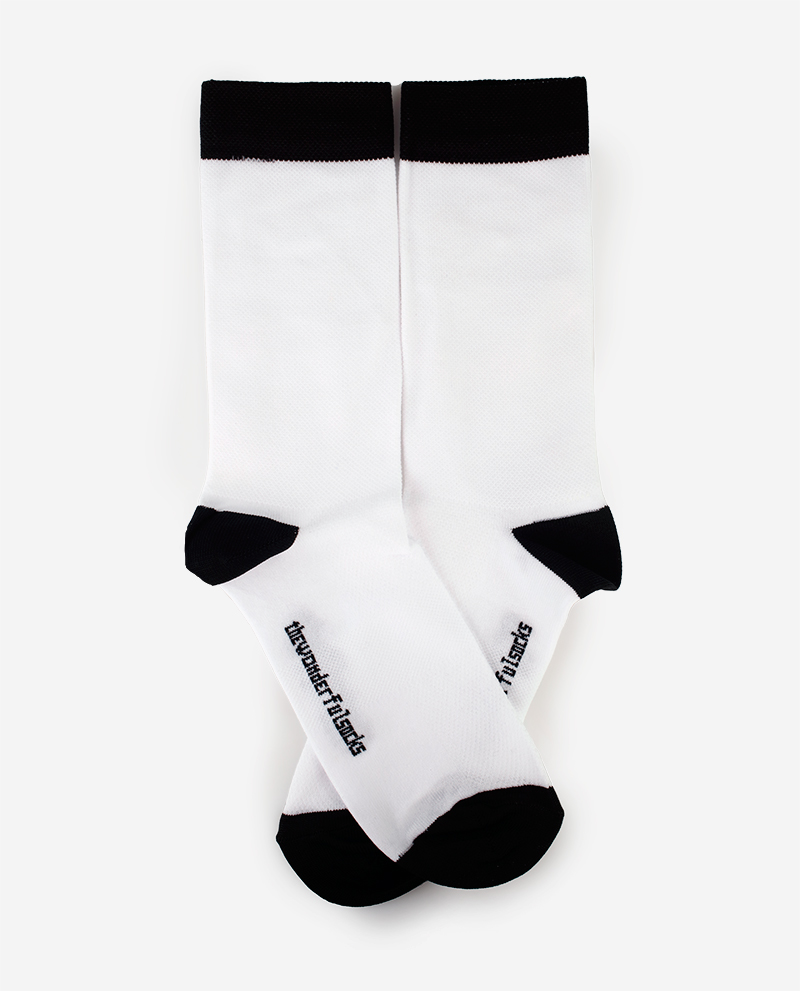 White #1 Socks